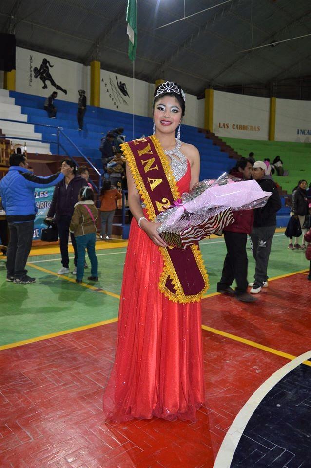 María Nela Condori De Culpina Es Miss Juegos Plurinacionales De Los