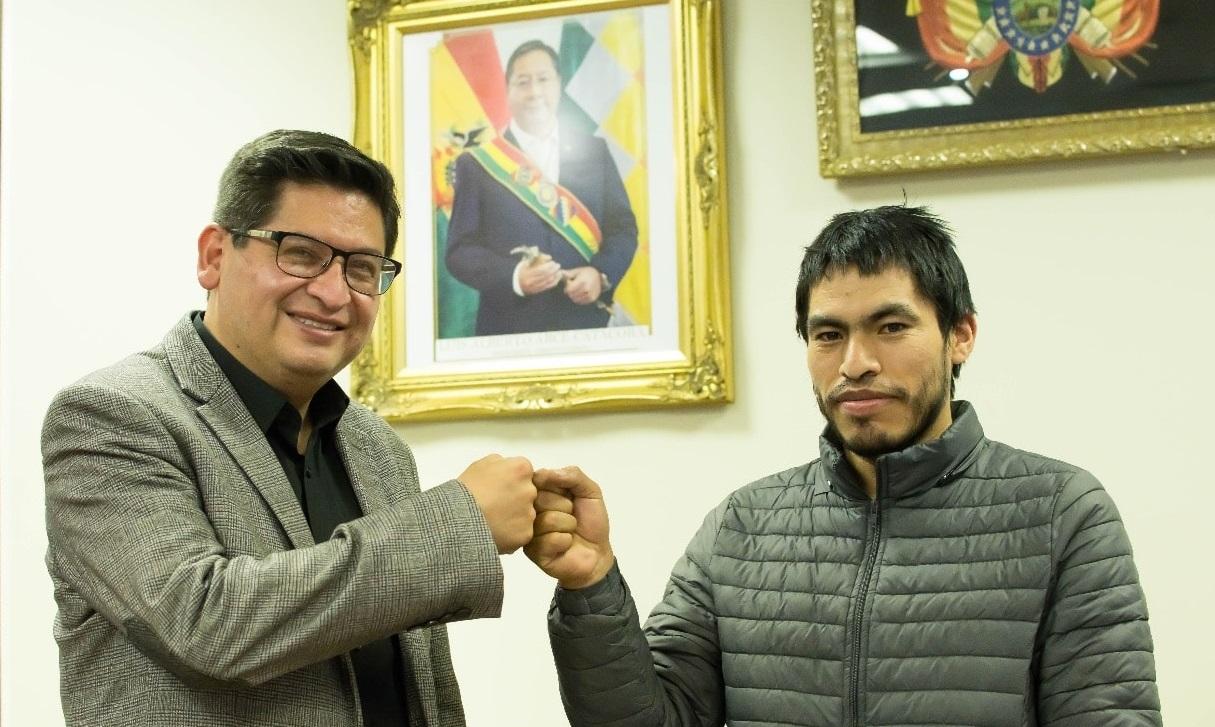 Ministro de Economía recibe a Beimar López para hablar de su fórmula