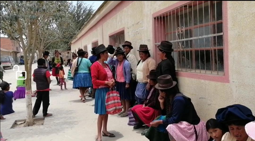 Pobladores de Villa Charcas piden ampliar atención del Segip