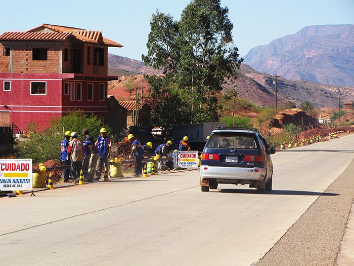 Reclaman ley de transferencia de gaseoducto El Puente - Camargo