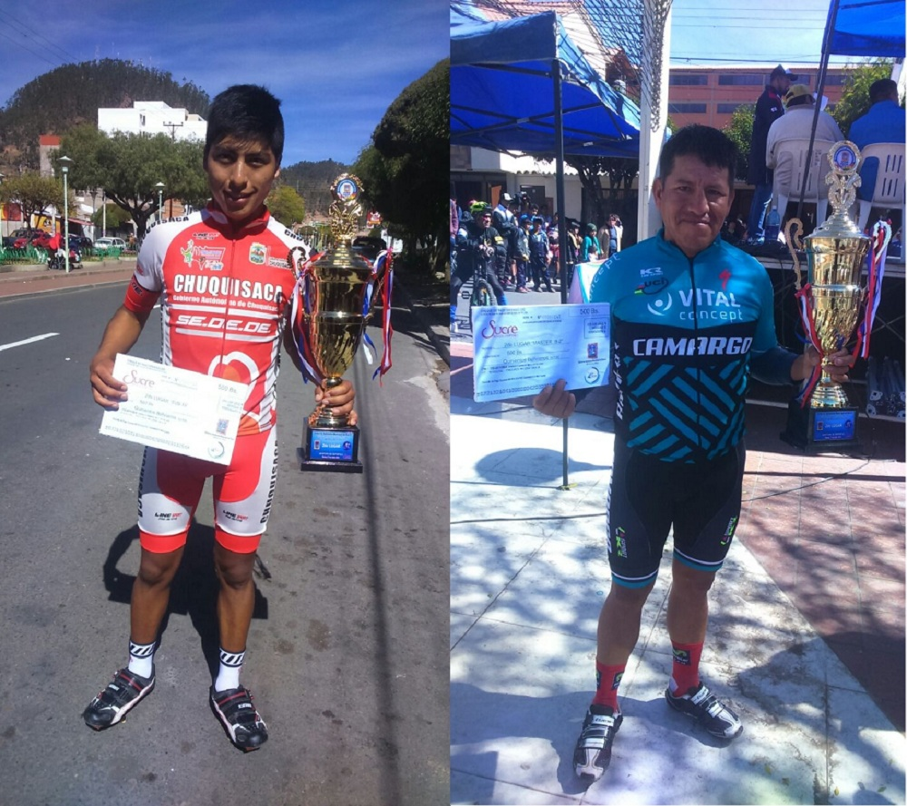 Rengifo y Aguilar lograron el segundo lugar en ciclismo nacional