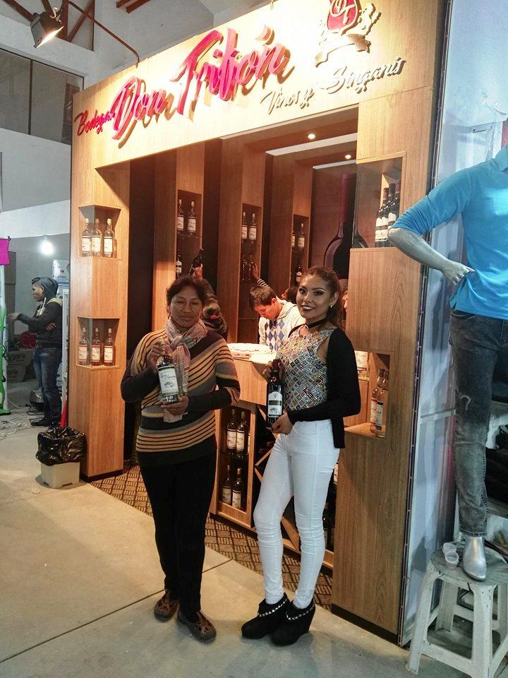 Seis productores de vinos y singanis participan en la FEXPO Sucre