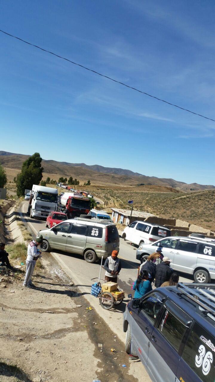 Toda la región de los Cintis se suma a la defensa de Incahuasi con bloqueo