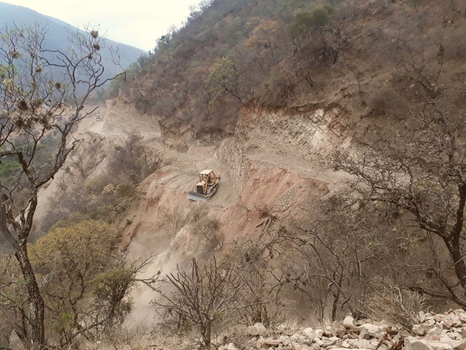 Trabajan los últimos seis kilómetros de la Ruta Juana Azurduy de Padilla