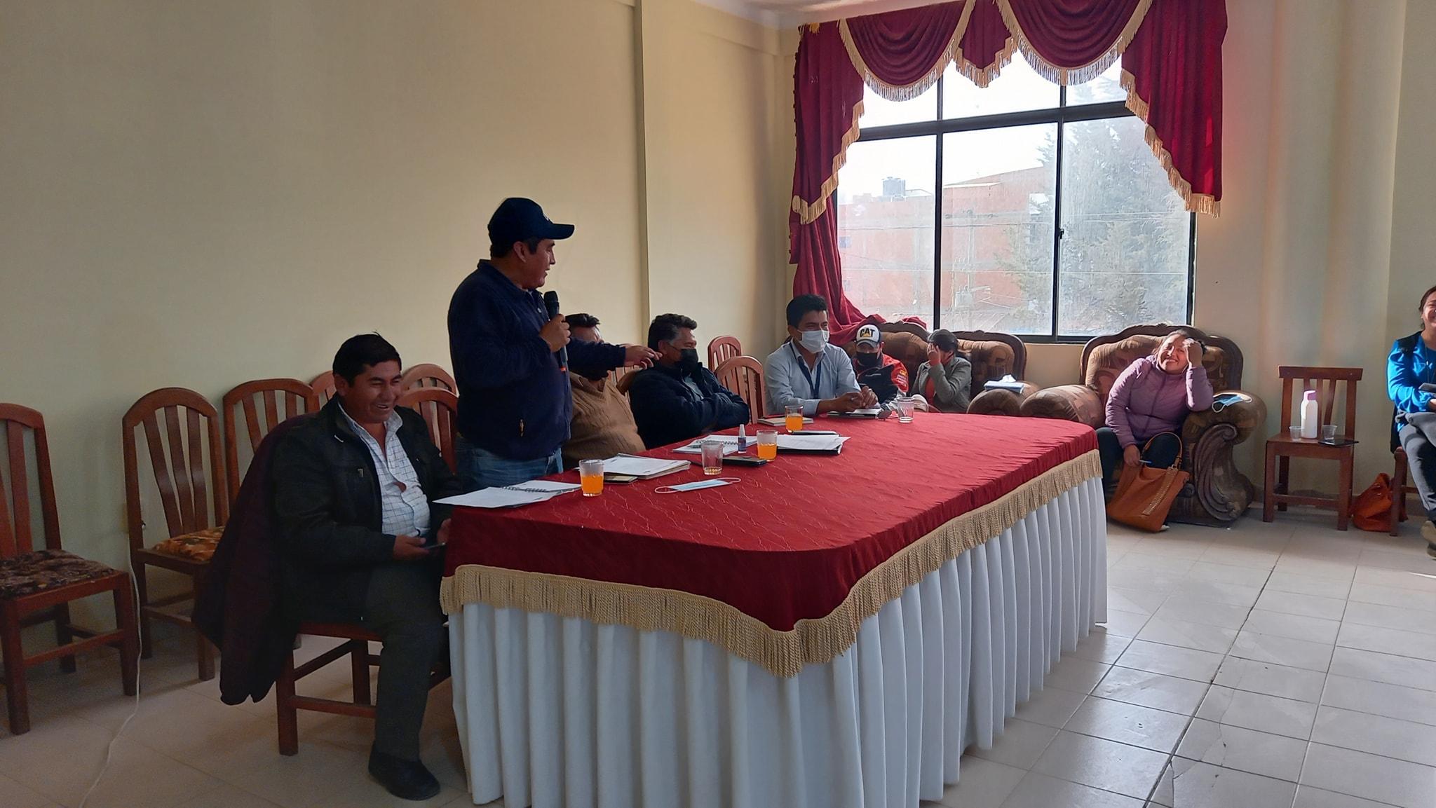 Villa Charcas, Incahuasi, Culpina y Villa Abecia se declaran en emergencia